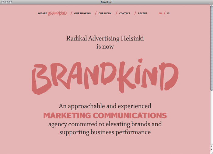 Brandkind website 5