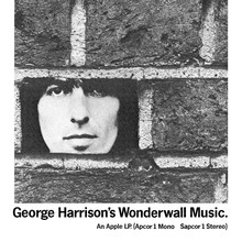 <cite>George Harrison's Wonderwall Music</cite> ad