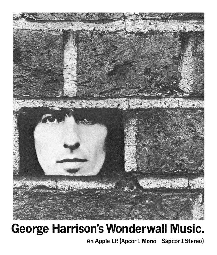 George Harrison's Wonderwall Music ad