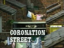 <cite>Coronation Street</cite> main title card