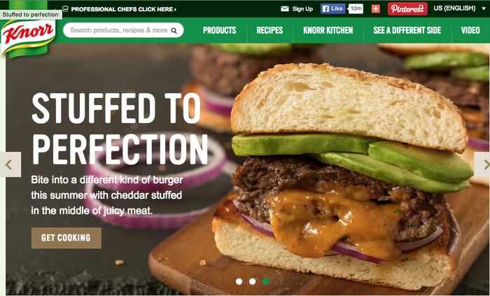 Knorr website 1