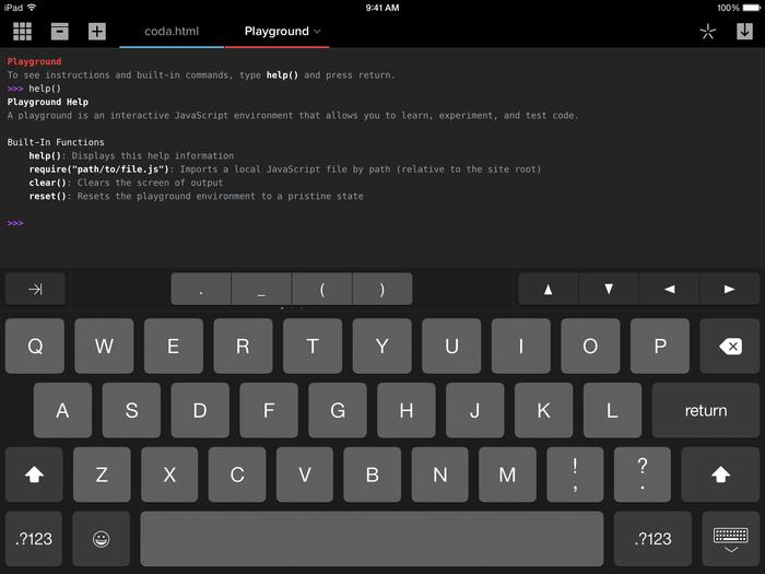 Coda for iOS 2.0 app 4