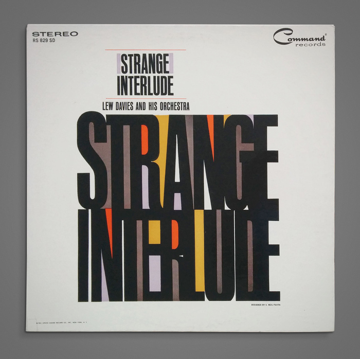 Lew Davies and His Orchestra – Strange Interlude album art 1
