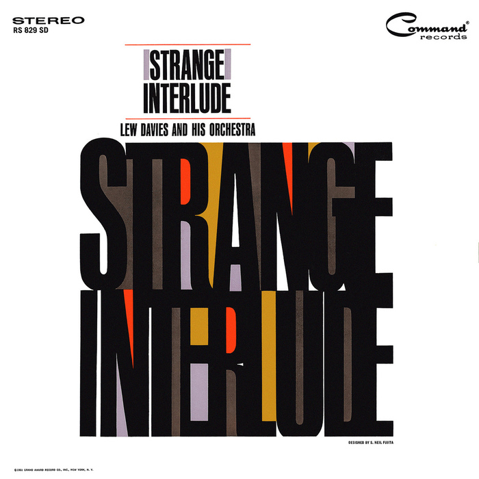 Lew Davies and His Orchestra – Strange Interlude album art 3