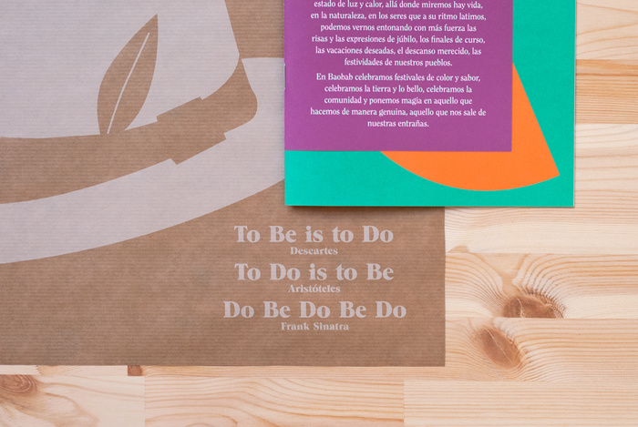 Baobab restaurant branding 3