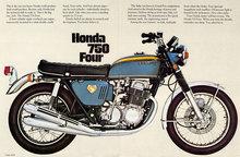 Honda 750 Four brochure
