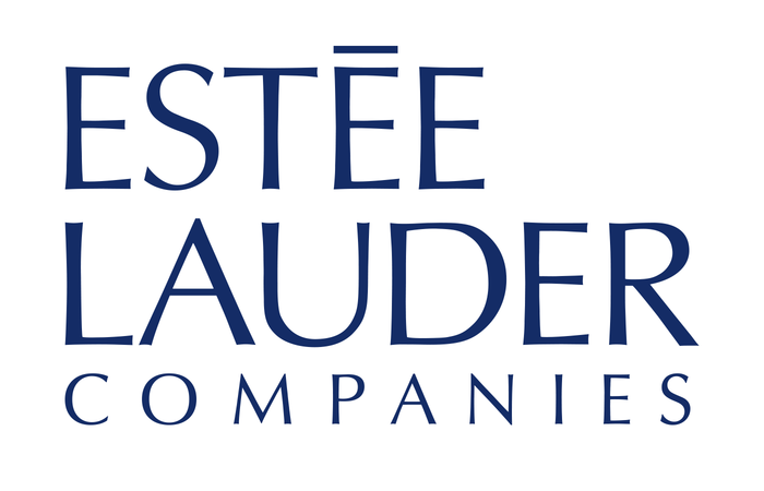 estée lauder companies logo fonts in use