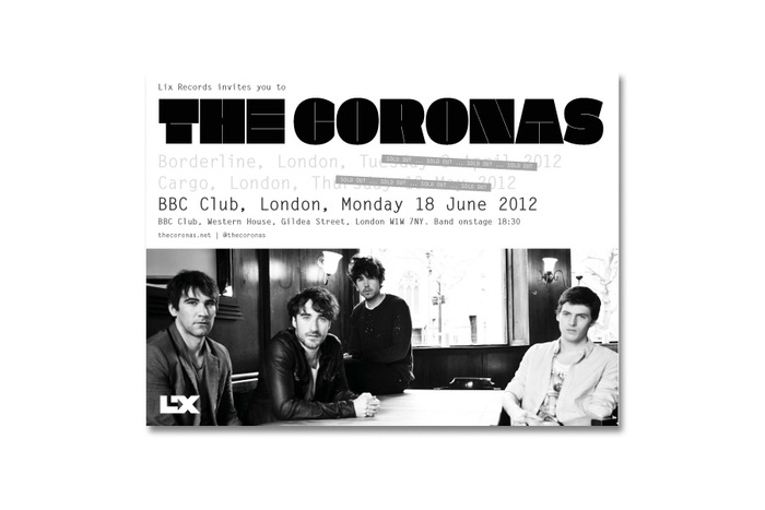 The Coronas Closer to You tour flyers 2