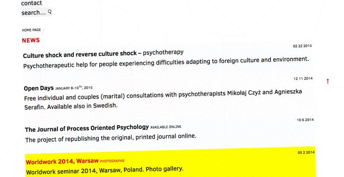 Mikołaj Czyż Psychotherapy website 3