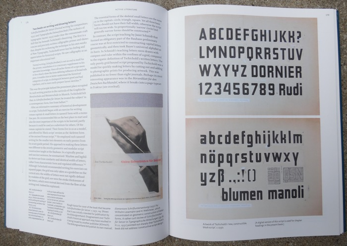Active Literature: Jan Tschichold and New Typography by Christopher Burke 2