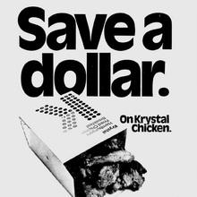 Krystal restaurants ads, 1973