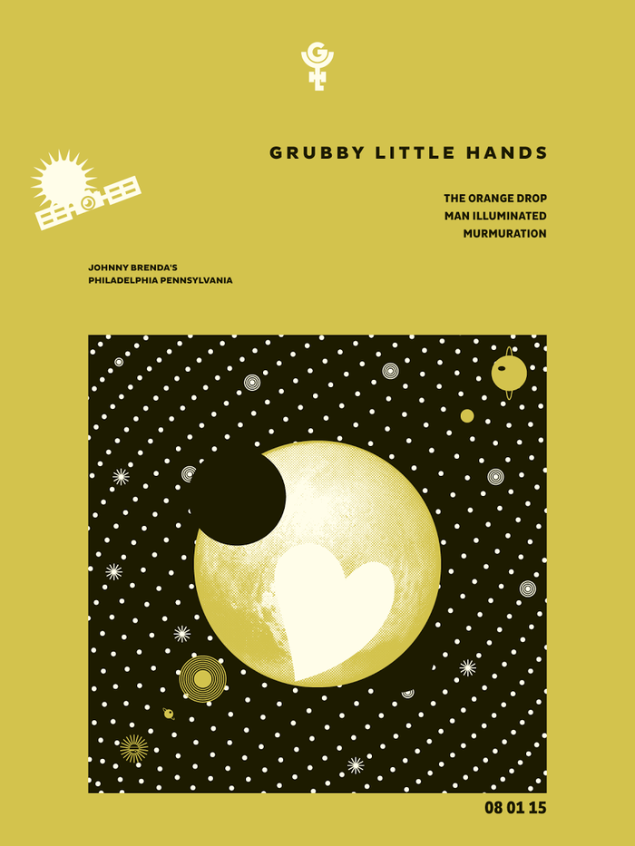 Grubby Little Hands at Johnny Brenda's, August1,​2015 3