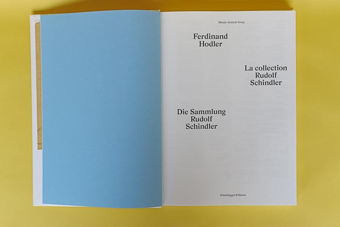 Ferdinand Hodler catalog,Musée Jenisch Vevey 2