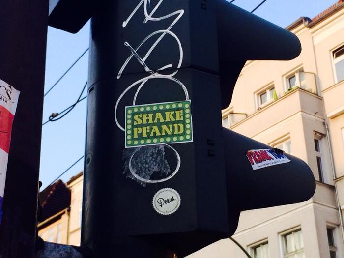 Shake Pfand stickers 1