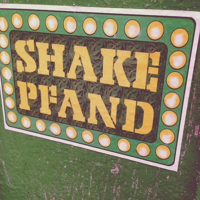 Shake Pfand stickers 3