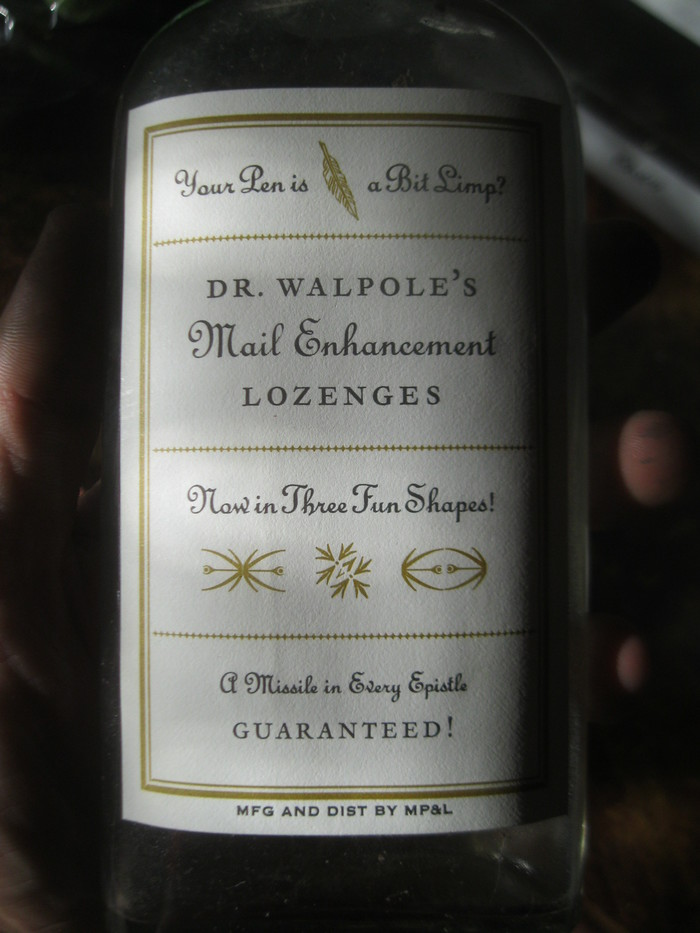 Dr. Walpole's Mail Enhancement Lozenges