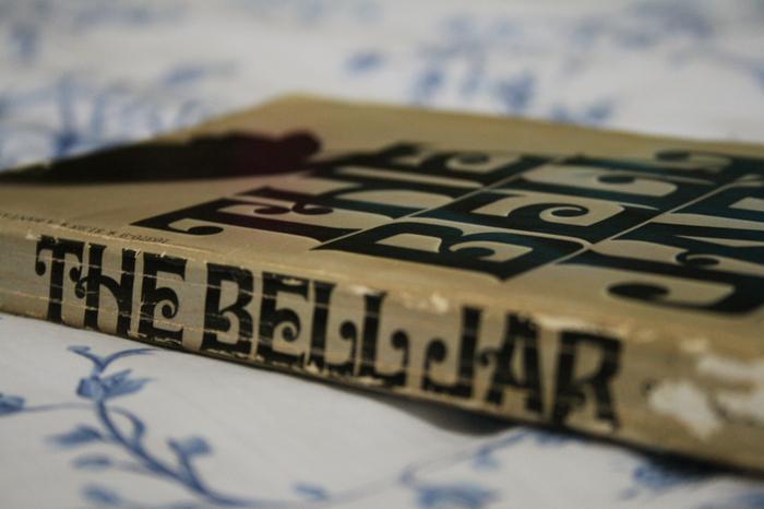 The Bell Jar by Sylvia Plath, Bantam Books 2
