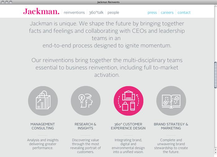 Jackman Reinvents website 2