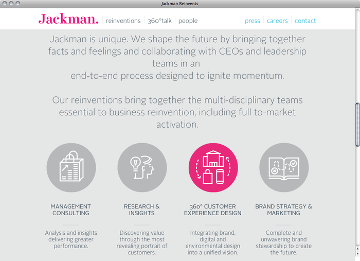 Jackman Reinvents website 2