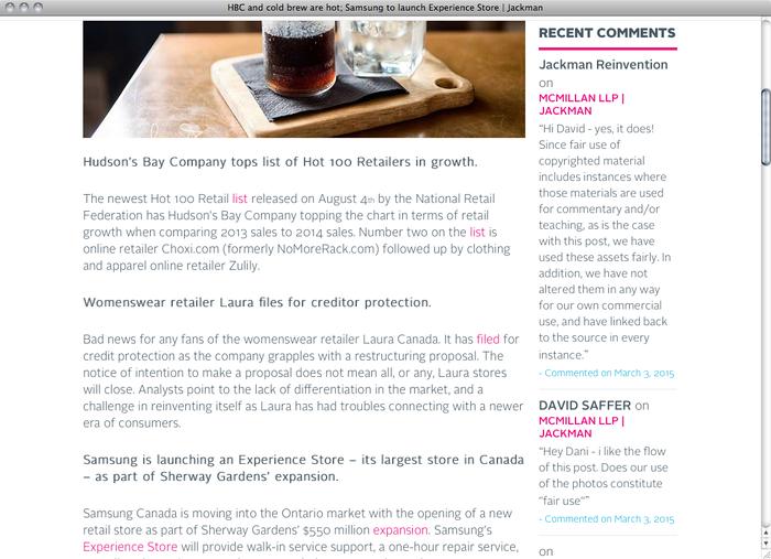 Jackman Reinvents website 4