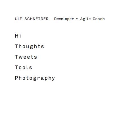 Ulf Schneider website