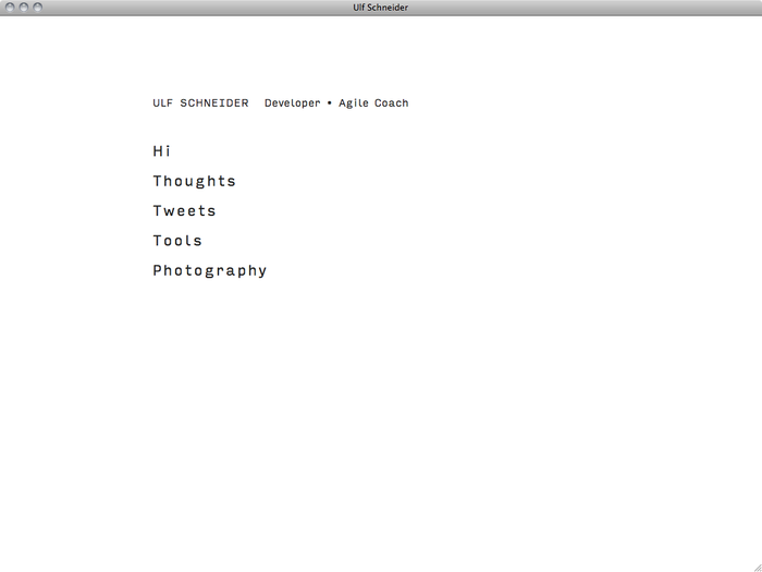 Ulf Schneider website 1