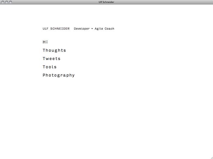 Ulf Schneider website 1