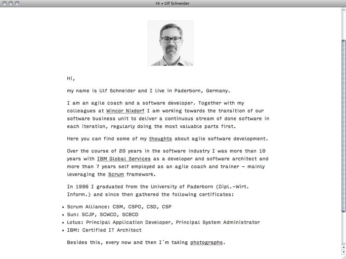 Ulf Schneider website 2