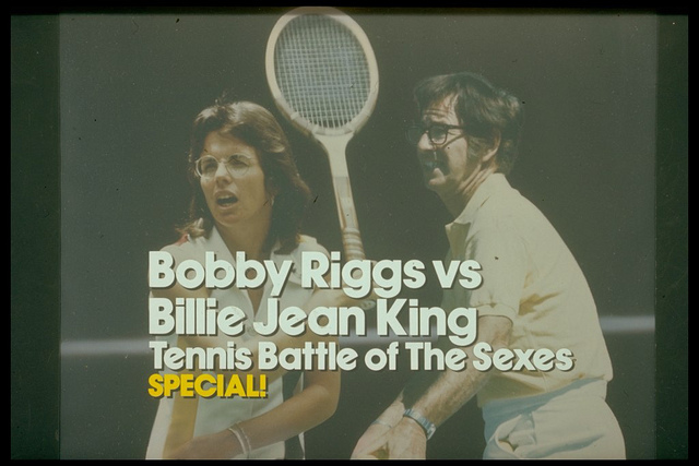 ABC Sports Special: Tennis Battle of The Sexes: Bobby Riggs vs Billie Jean King TV title card