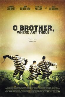 <cite>O Brother, Where Art Thou?</cite> movie poster