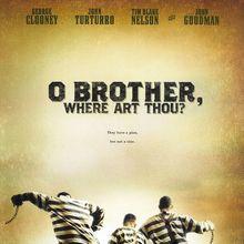<cite>O Brother, Where Art Thou?</cite> movie poster