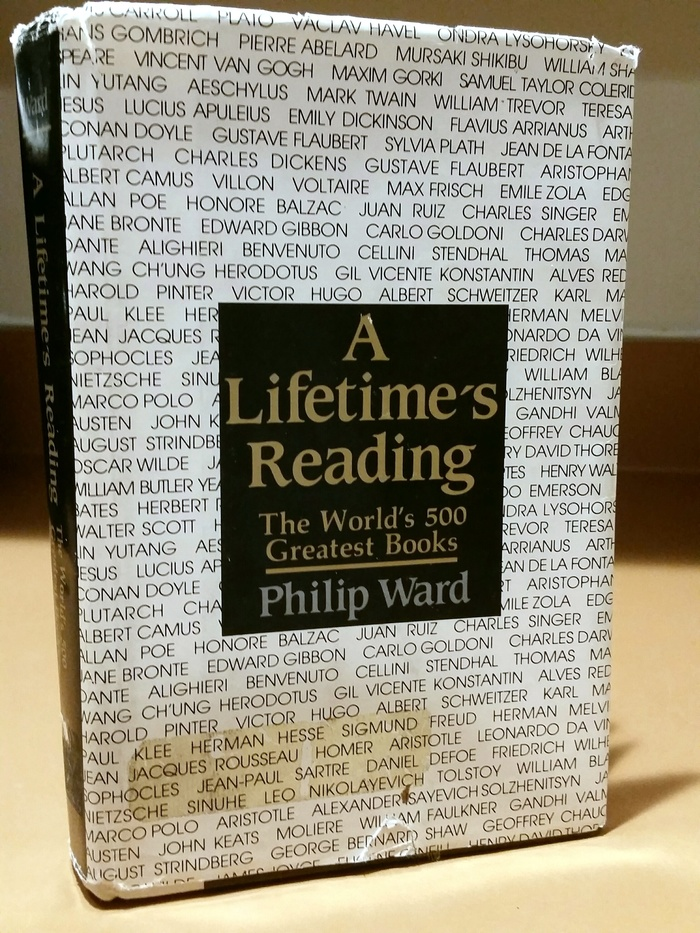 A Lifetime's Reading by Philip Ward 1