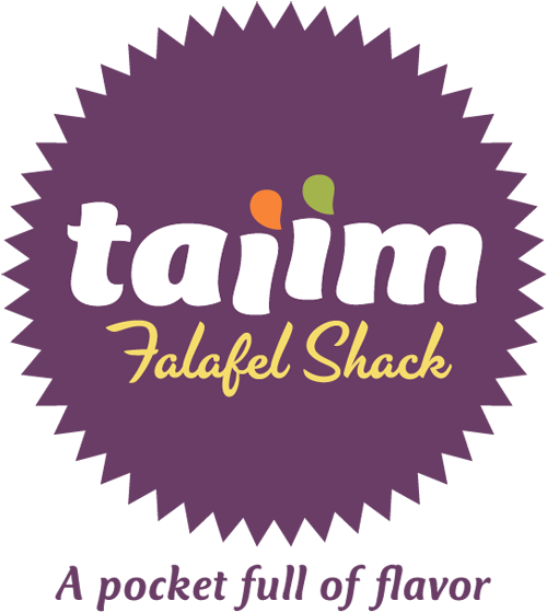 Taiim Falafel Shack logo and website 1