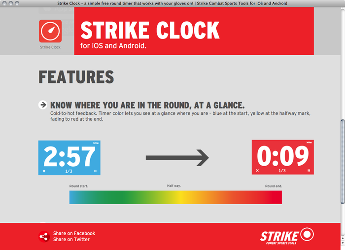 Strike Clock website 2