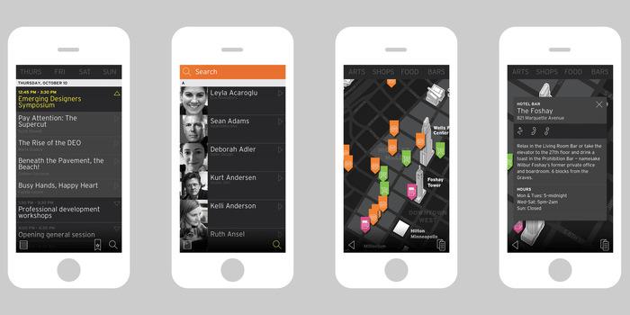 Head, Heart & Hand: AIGA Design Conference app 3