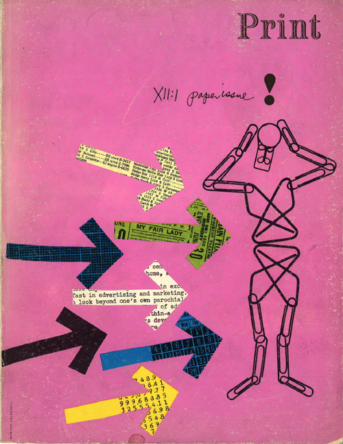 Print XII:1 (1958). Cover by Morton Goldsholl