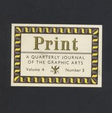 <cite>Print</cite> magazine nameplate, 1955–1960