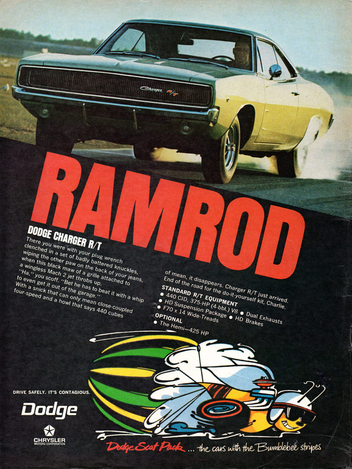 """""""RAMROD"""": Dodge Charger R/T"""