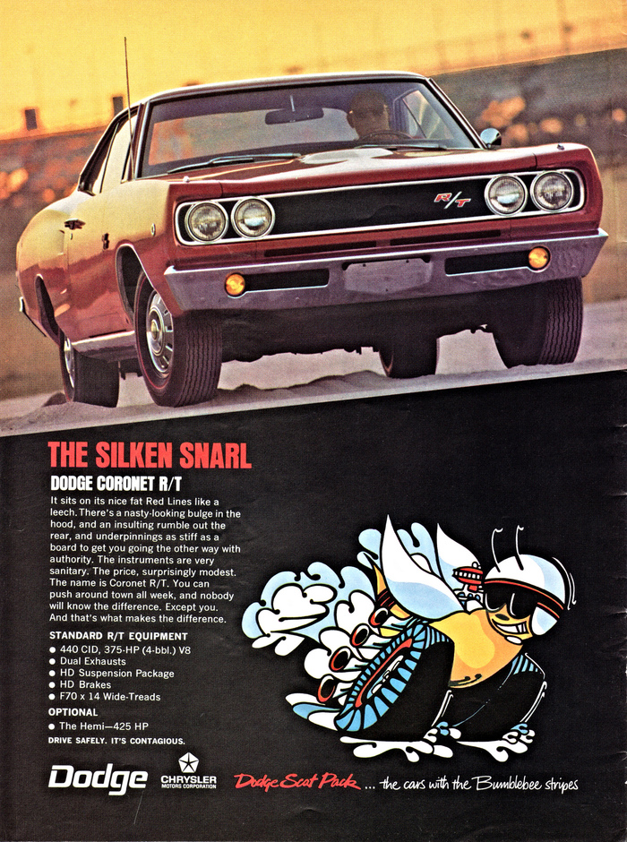 """THE SLIKEN SNARL"": Dodge Coronet R/T"