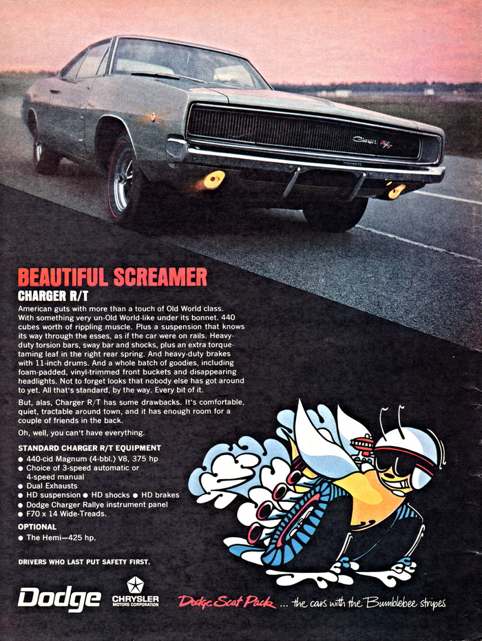 """BEAUTIFUL SCREAMER"": Dodge Charger R/T"