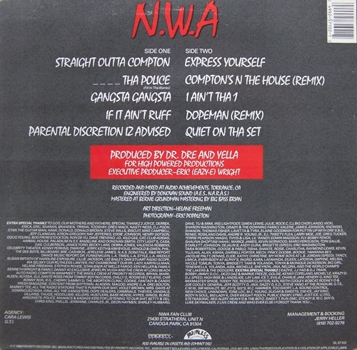 Straight Outta Compton by N.W.A 2