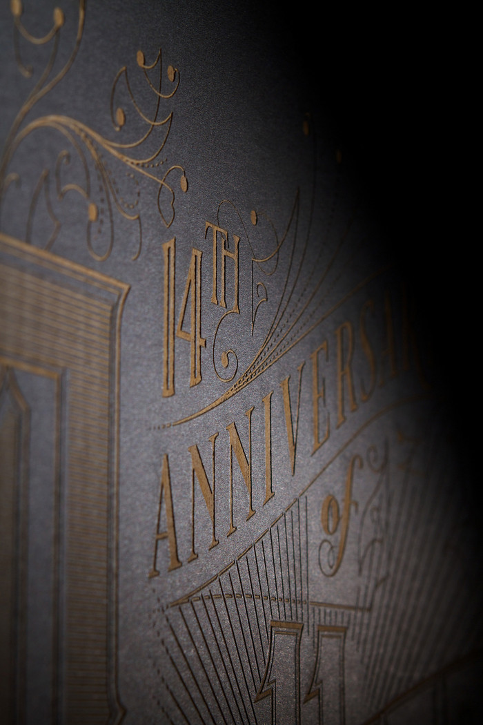 Pantheon – a laser etched poster 3