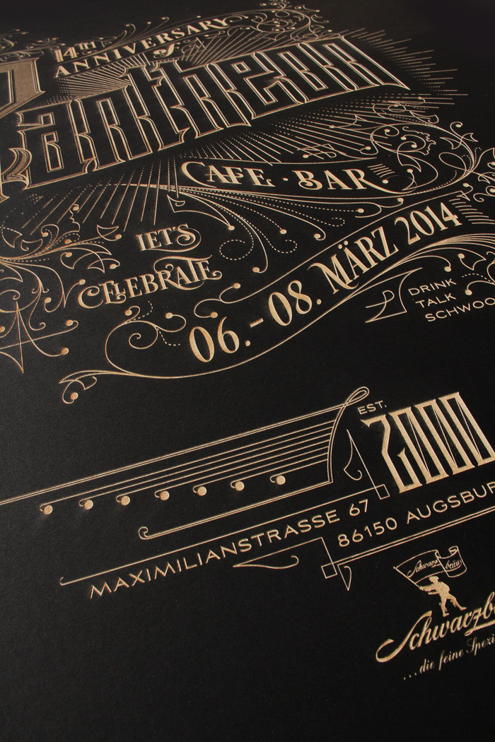 Pantheon – a laser etched poster 5
