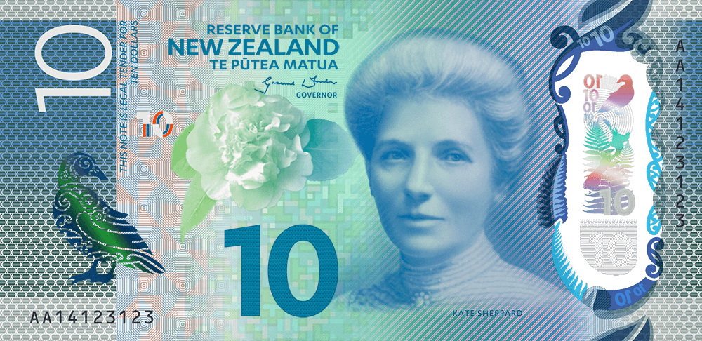 New Zealand Banknotes Series 7
