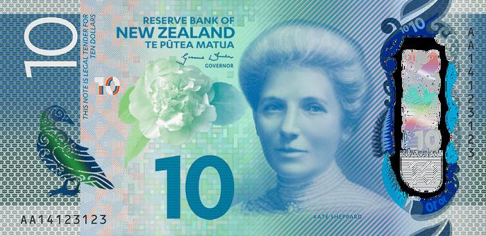 New Zealand banknotes (Series 7) 1