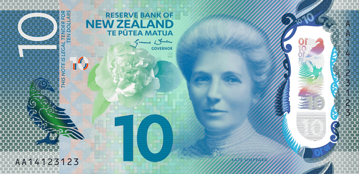 New Zealand banknotes (Series 7) 1