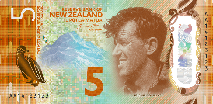 New Zealand banknotes (Series 7) 2
