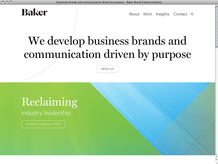 Baker website 1