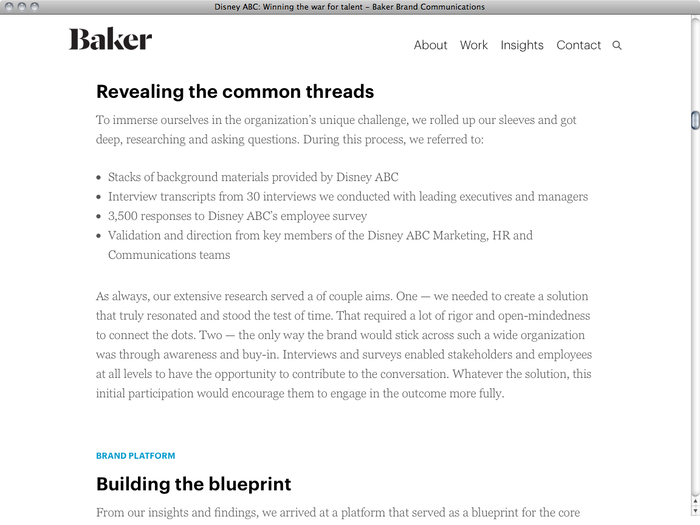 Baker website 3