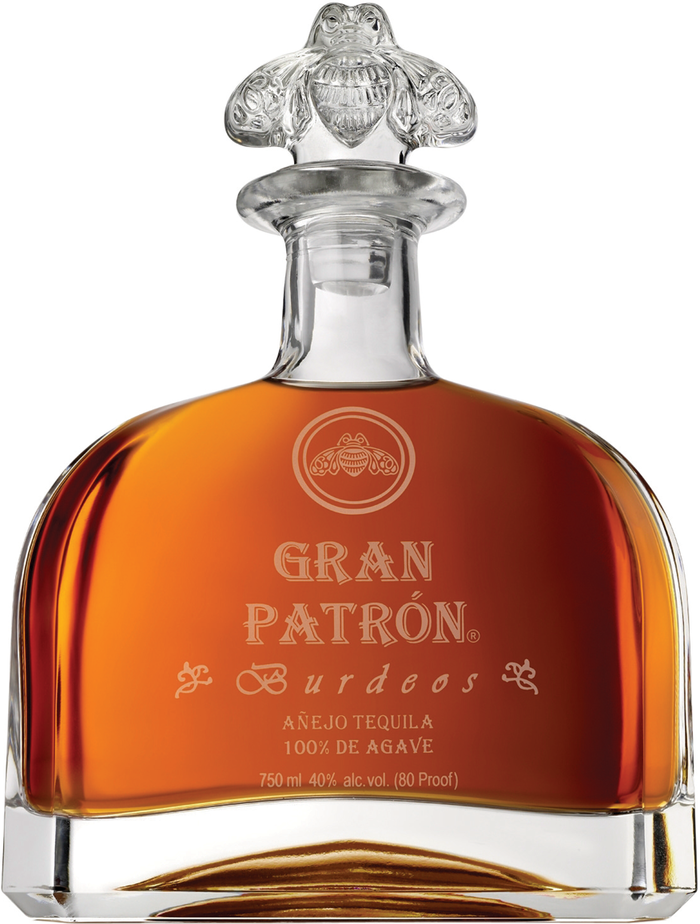 Patrón logo and bottles 3